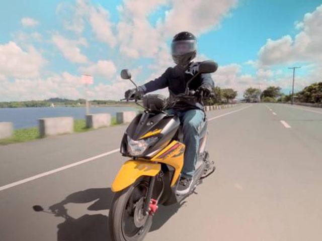 Suzuki trình làng xe ga Skydrive Crossover, giá 33 triệu đồng
