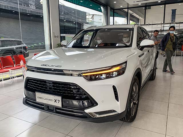 Cận cảnh xe Trung Quốc BAIC Beijing X7, giá lăn bánh hơn 760 triệu đồng