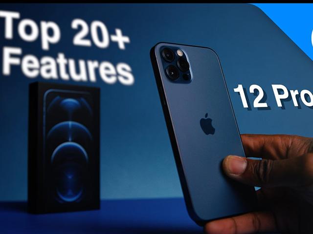 Top tính năng làm nên phép thuật trên iPhone 12 Pro