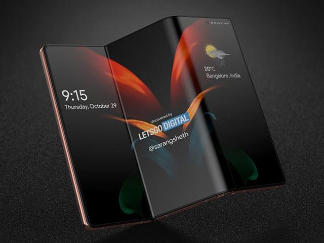 Samsung sắp có chiếc smartphone có kiểu dáng kỳ lạ
