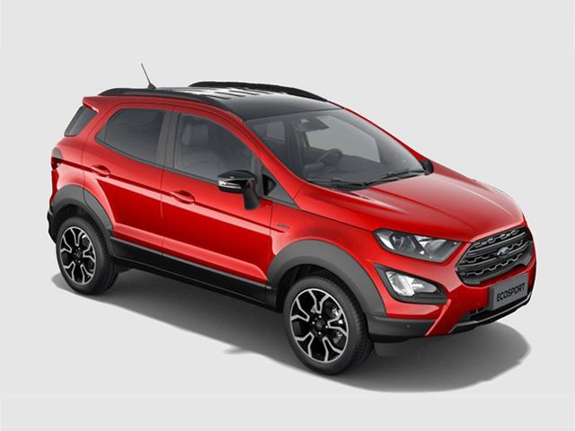 """Ford EcoSport Active lộ diện, thay đổi để """"đấu"""" với Hyundai Kona và Kia Seltos"""