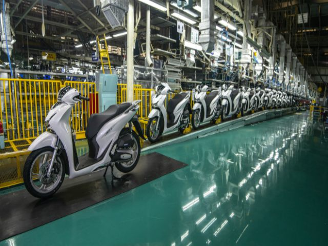 Honda cán mốc 30 triệu chiếc xe máy xuất xưởng tại Việt Nam