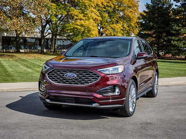 """Ford Edge 2021 nâng cấp màn hình """"khủng"""" và bổ sung 2 màu ngoại thất mới"""