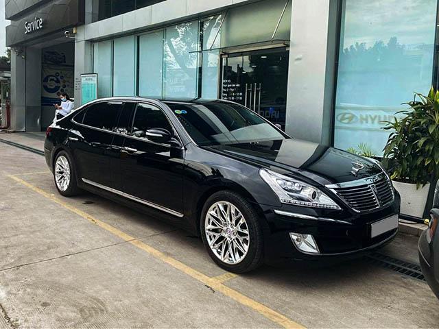 Ngắm hàng độc Hyundai Equus Limousine sử dụng động V8 tại Việt