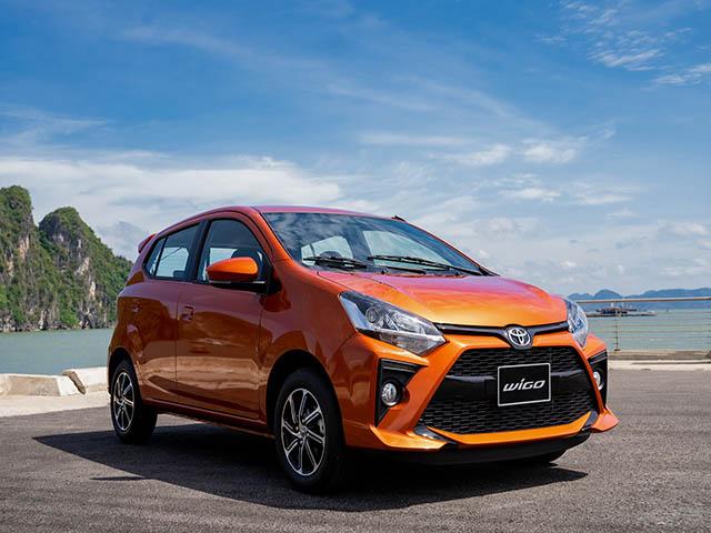 Giá xe Toyota Wigo lăn bánh tháng 11/2020