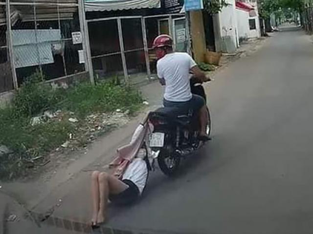 TP.HCM: Cô gái bị cướp kéo lê trên đường hàng trăm mét