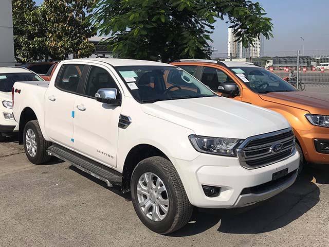 """""""Hàng nóng"""" Ford Ranger và Everest 2021 đã có mặt tại Việt Nam"""