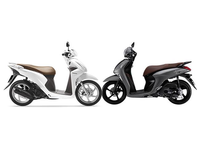Nên mua Honda Vision hay Yamaha Janus?