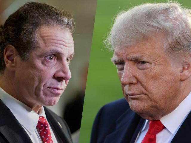 Thống đốc bất mãn với ông Trump bất ngờ lên tiếng bênh vực