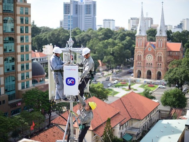 Mạng 5G thử nghiệm thương mại của MobiFone lên tới hơn 192MB/s