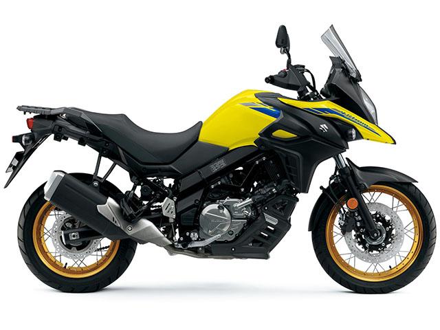 """Chiêm ngưỡng """"tứ đại danh bộ"""" Suzuki 650cc vừa trình làng"""