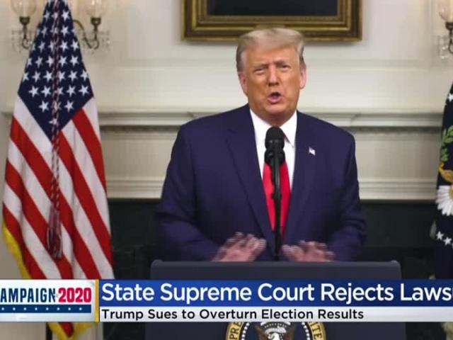 """Ông Trump bị Tòa án Tối cao Wisconsin """"dội gáo nước lạnh"""""""