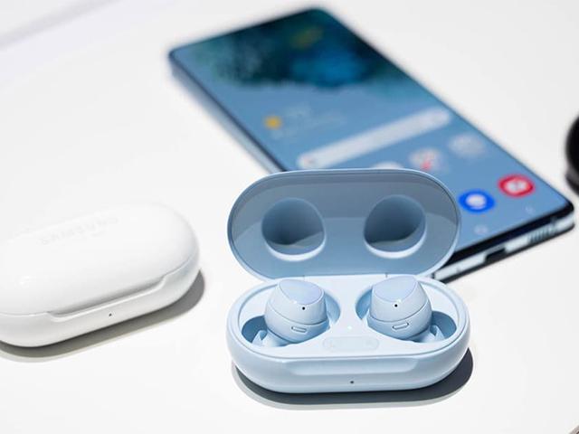 Lộ ảnh cặp tai nghe Galaxy Buds Pro màu tím đẹp hút hồn