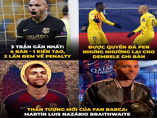 """Ảnh chế: Fan Barca có thần tượng mới """"thay thế"""" Lionel Messi"""