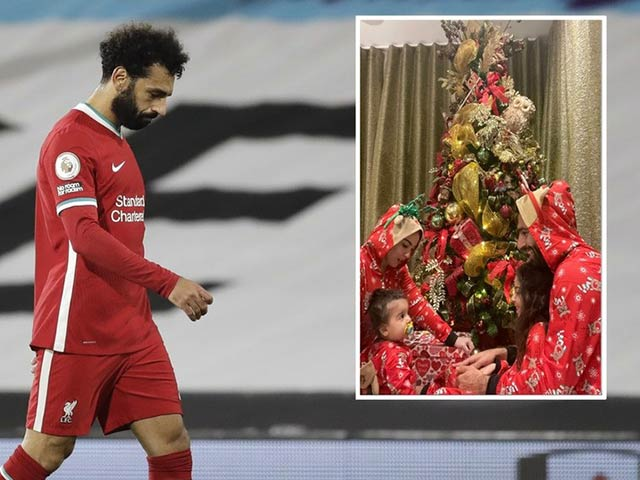 Salah bỗng dưng bị fan chửi bới, ngỡ ngàng chỉ vì bức ảnh Giáng sinh
